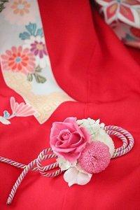 和・髪飾り(ピンク)