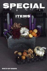 For Sale Halloween Arrangement (2sets)