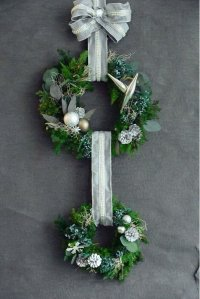 Double Wreath(Gold or Silver)