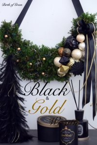 Black&Gold Wreath