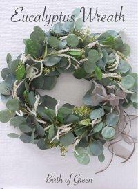 Eucalyptus Wreath(Amaranth)