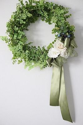 画像1: Greenish Wreath