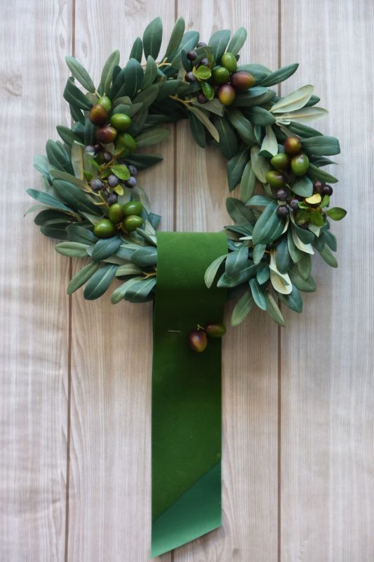 画像1: Olive Wreath