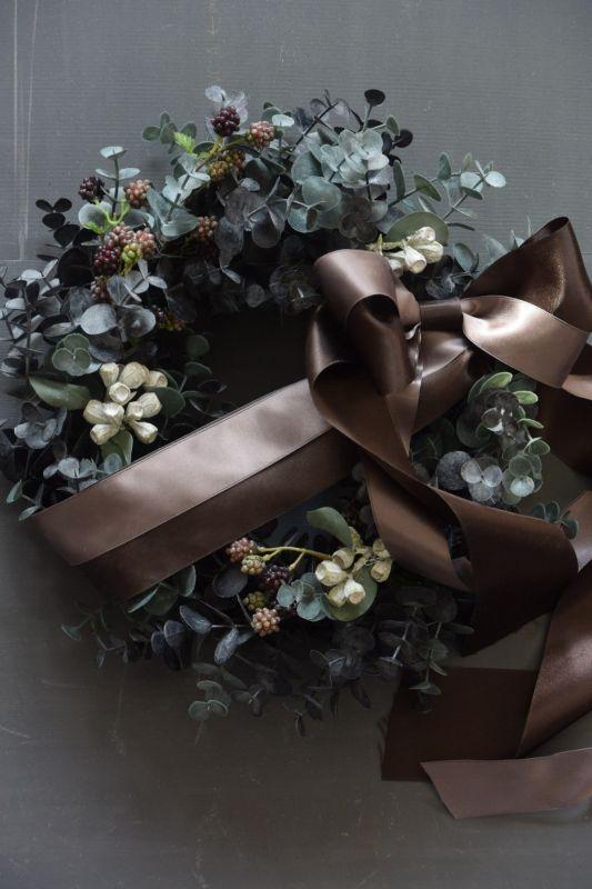 画像1: Eucalyptus Wreath