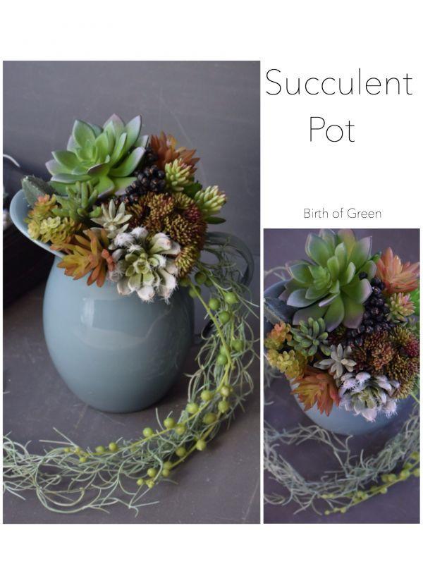 画像1: Succulent  Pot