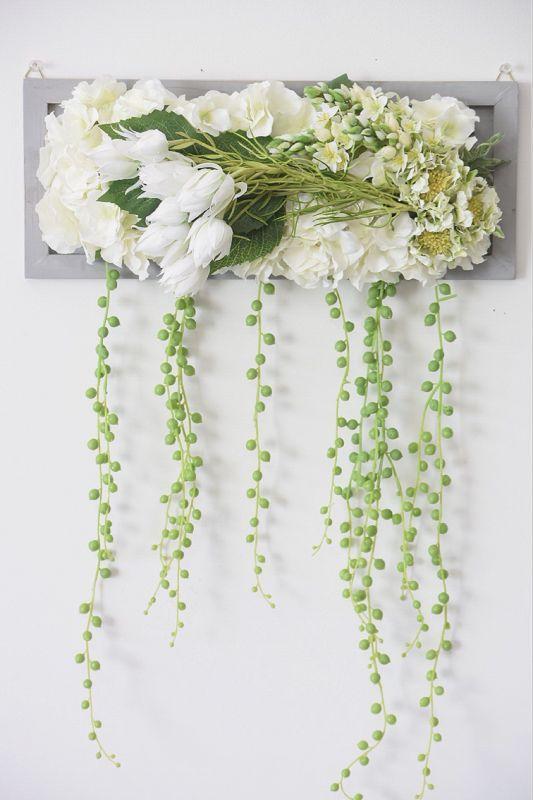 画像1: Green Necklace (White)