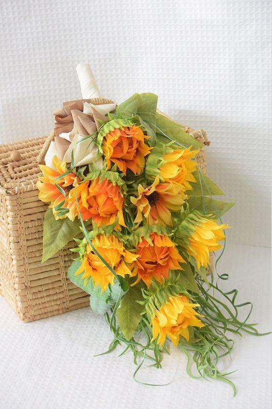 画像1: Sun Flower Swag